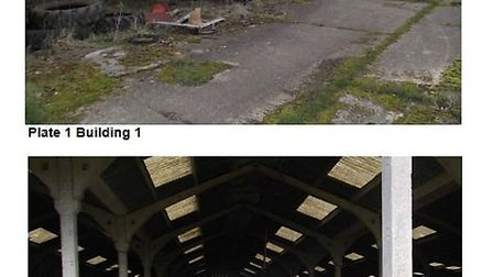 Disused buildings at Wentworth farm that would have been demolished to make way for 15 self-build ho