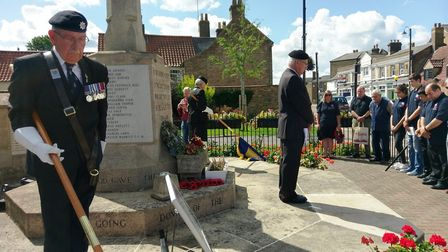 Chatters remembers those lost in the Battle of Passchendaele PHOTOS: Chatteris RBL