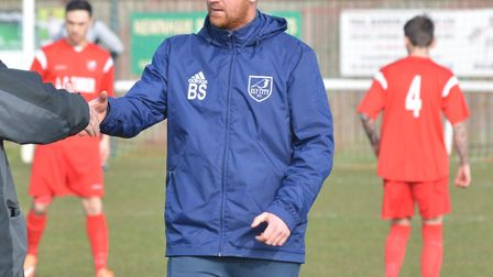 Ely City manager Brady Stone was pleased with his side's display in their 0-0 draw with Saffron Wald
