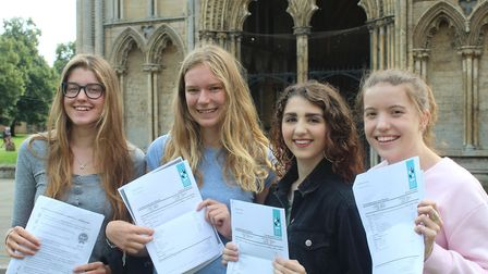 Kings School Ely students celebrate their GCSE results