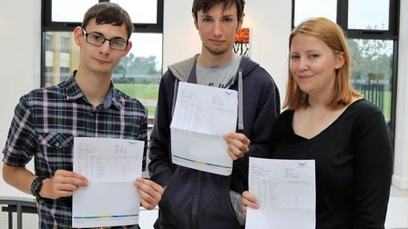 Plenty of reasons for celebrations at Thomas Clarkson Academy as A-Levels were announced. Our thanks