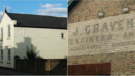 These signs in Ely prompted 96-year-old Joan Awbery to take a trip down memory lane - to the time wh