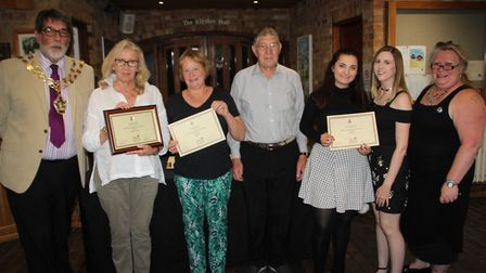 The winners of Ely in Bloom 2017's five categories received their awards this week. Photo: MIKE ROUS