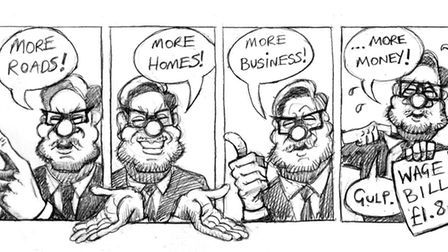 WILL LAWS CARTOON: Mayor James Palmer and the costs of running the combined authority