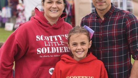 Chatteris boxer Jordan Gill at the Scotty's Little Soldiers fun day