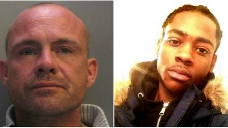 Jahmel Grant, right, died after Mark Garrod, left, crashed his car in Branch Bank, Ely last year