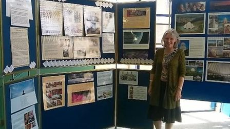 The Ely Bahá'í Community exhibition at Ely Library.