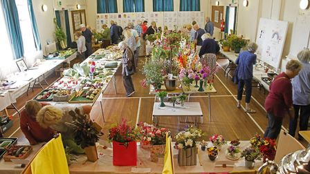 The Bardfield Horticultural Society Show earleir this month was a success. Picture: DOUG JOYCE