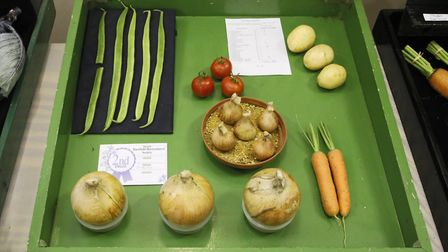 Local produce was also presented at the Bardfield Horticultural Society Show. Picture: DOUG JOYCE