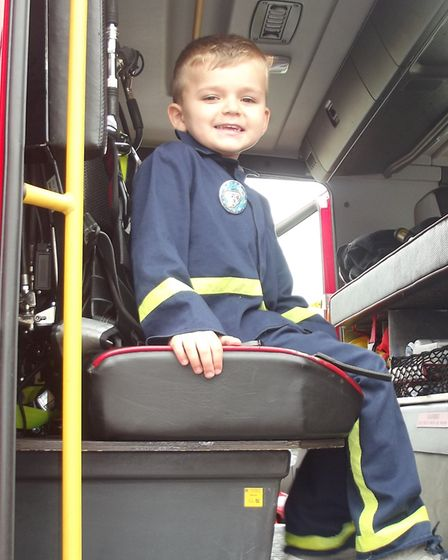 Clarence House day nursery in Ely. A fun packed Saturday; Ely Fire service came along to visit as w