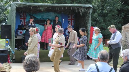 40s event at Prickwillow Museum PHOTO: Mike Rouse