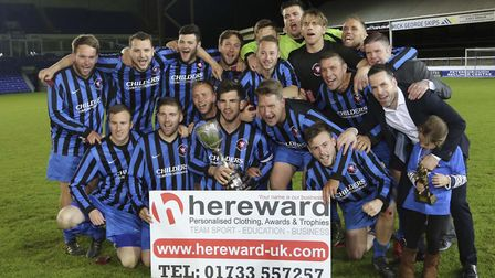 Whittlesey will hope they can replicate the success of the 2015/16 season, which saw them win the PF