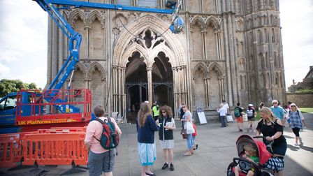 Part of box office smash Assassin's Creed was filmed in Ely last year, and this year film crews are