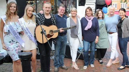 Ely High Street Passage shops throw another successful street party. PHOTO: Mike Rouse.