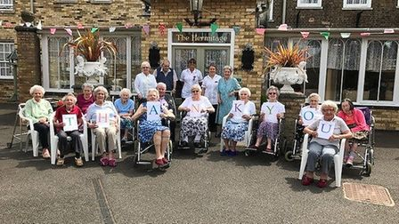 The Hermitage in Whittlesey raised £2,536 at its 15th annual fundraising day last weekend.