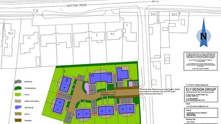 Land to the rear of 1 to 7 Sutton Road Witchford has been approved for affordable housing