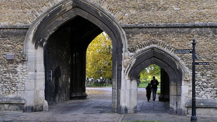 The porta at King's Ely will be explored as part of the National Heritage weekend in Ely next month.