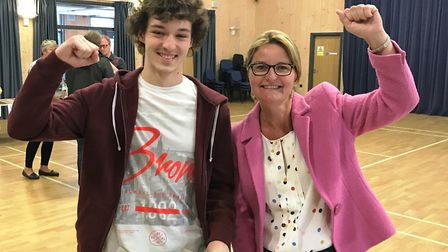 Will Evans, who is now off to Southampton to studym medicine, and assistant principal and head of si