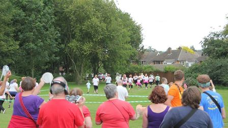 Organisers were delighted with the sea of colour as Ely hosted a charity colour run for the second y