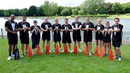 King's Ely dragon boat race