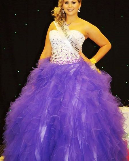Lucy Merchant is through to the Catwalk Perfect finals representing Tydd St Giles