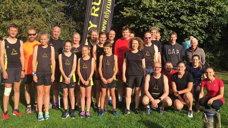 Ely Runners at the Cambridge Park Run.