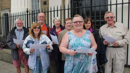 Councillor Alison Arnold, alongside her fellow judges, were out and about in the city this week to j