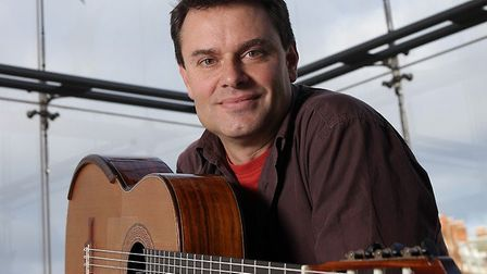Classical guitarist Craig Ogden to perform at Ely Cathedral.