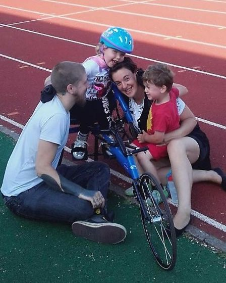 Maya Ratcliffe dream sof competing in the Paralympics