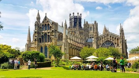 Ely Cathedral gets its certificate of excellence from Trip Advisor