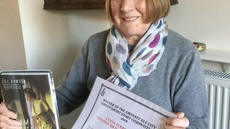 Last year local author Lynda Turbet was crowned the winner of Amnesty International Ely's short stor