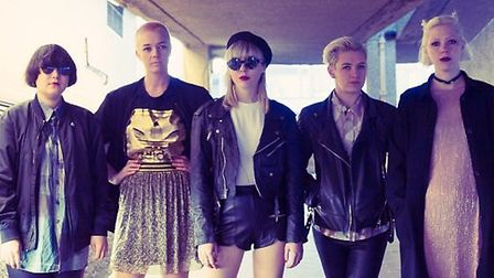 Indie band PINS will be headlining the Labyrinth stage
