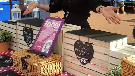 One of last year's stall holders, Food By Lizzi, sold out on the day.