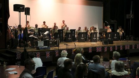 The bands performing at last year's show.