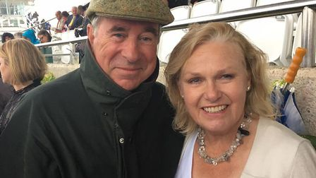 Anthony Morbey who has died following a car crash in Cumbria. Pictured with his wife Alison. PHOTO: