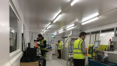 Cambridgeshire based plastics recycling specialist PLASgran- the lab in their Technical Development