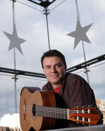 Craig Ogden, is coming to perform at Ely Cathedral PHOTO: Jon Super.