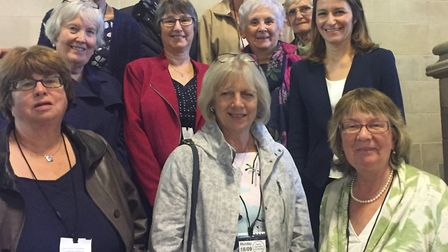 The Isle of Ely Federation Women's Institute visited SE Cambs MP Lucy Frazer earlier this month.