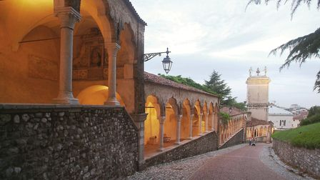 A walking tour of Udine. Part of the Italy Golf and More tour. PHOTO: Kath Sansom