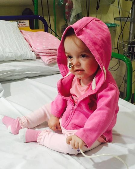Amelia Webb was born premature at 26 weeks and six days weighing jsut 1lb 1oz. Now she is rpeparing