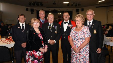 Last Night of the Proms at GER March: Alex Larham, Linda Mitchell, Anthony Chandler, Barry Howlett,