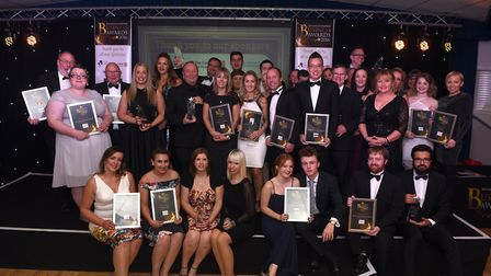 Flashback to the 2016 Fenland Business Awards at March Braza club, pictured are all winners and fina