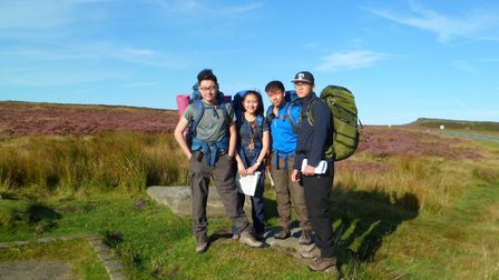 Four King's Ely International students have completed their Gold Duke of Edinburgh's Award Qualifyin