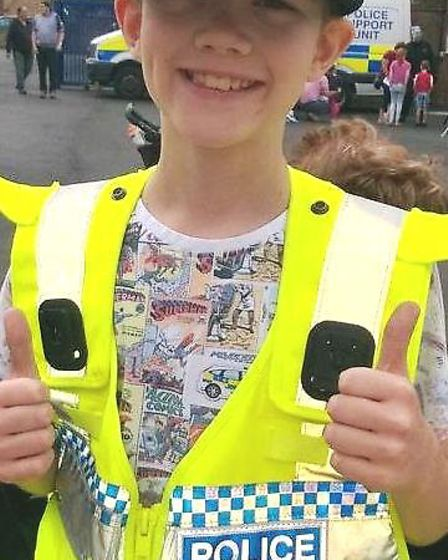 Open day at Ely Police Station is a success with children and parents. PHOTO: Facebook/Policing East