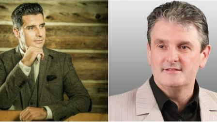 John McNicholl and Shawn Cuddy will perform at The Brook in Soham this month.