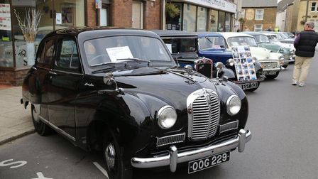 A vintage vehicle display will be one of the attractions at this year's Whittlesey Festival.