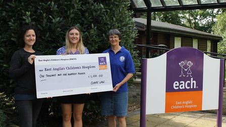 Haddenham fundraiser Claire Law raised over £1,000 for EACH by taking part in a gruelling 100-mile w