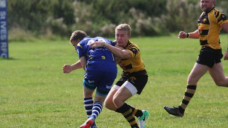 Action from Ely Tigers pre-season clash with St Ives. Photo: STEVE WELLS