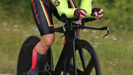Darran Bennett was the fastest Ely & District Cycling Club member at the VTTA 25 mile challenge near