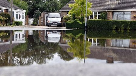 Tree roots were to blame for flooding in Fisherman's Drive, March